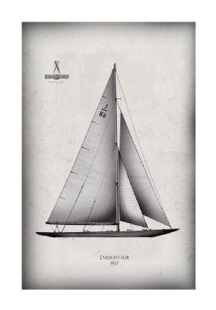 America's Cup Yacht 1937 Endeavour